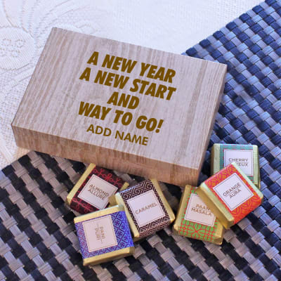 Motivational Personalized 6pc Assorted Chocolate Box