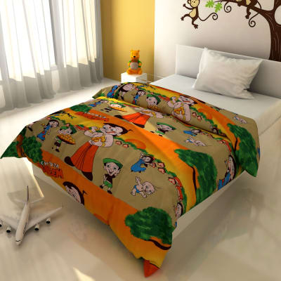 Multi-Coloured Cartoon Print Blankets
