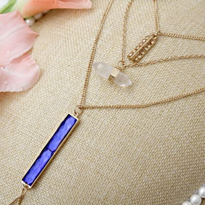 Multi-Strands Fashion Necklace