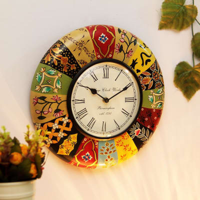 Multicolored Wall Clock