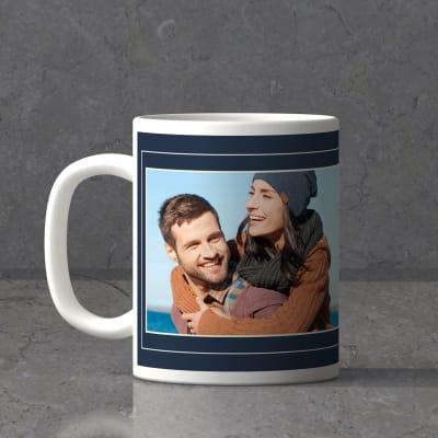 My Husband Is A Hero Personalized Birthday Mug