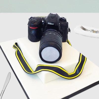 My SLR Camera Fondant Cake (3 Kg)