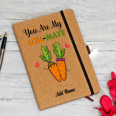 My Soil-mate Personalized Eco-Friendly Notebook