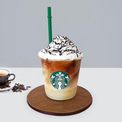 My Starbucks Fondant Cake (3 Kg)
