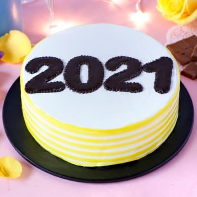 New Year 2021 Pineapple Cake (Half Kg)