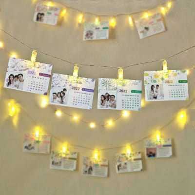 New Year Personalized Photo Calendar