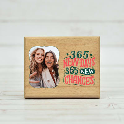New Year Personalized Photo Frame