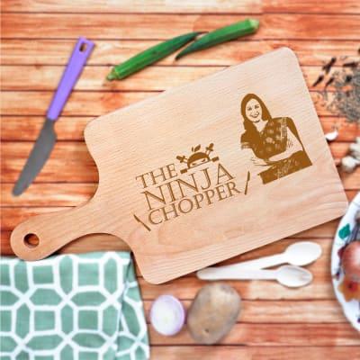 Ninja Chopper Personalized Chopping Board for Mom