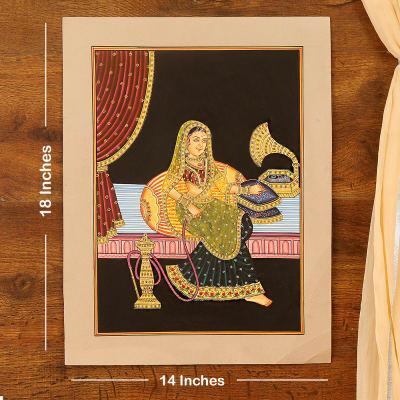 Noor Begum Embossed Cardboard Painting