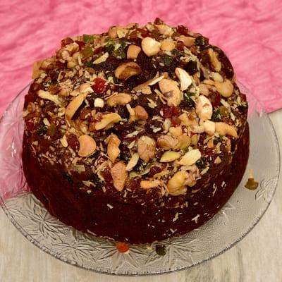 Nutty Plum Cake