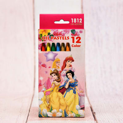 Oil Pastel 12 Colors Pack