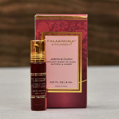 Opulent Blend of Oudh, Saffron & Amber Unisex Attar