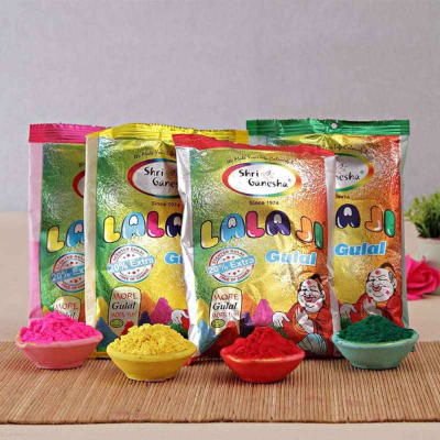 Pack of Four Holi Colors