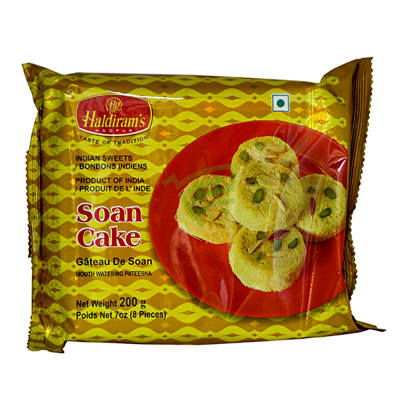 Pack of Haldirams Soan Cake