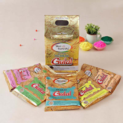 Pack of Shri Ganesha Gulaal