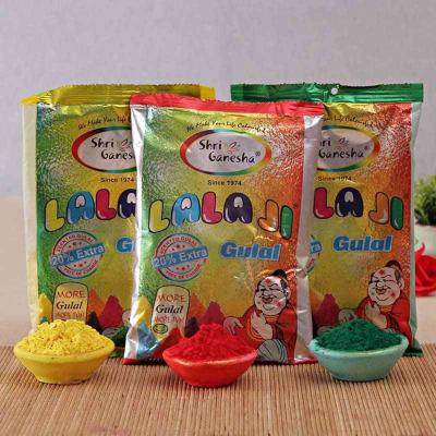 Pack of Three Holi Colors