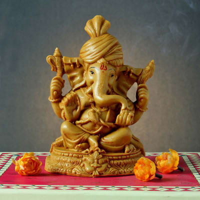 Laxmi Ganesh Idols For Diwali Buy Send Silver Lakshmi Ganesh