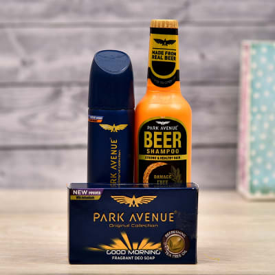Park Avenue Grooming Hamper For Men In Gift Bag