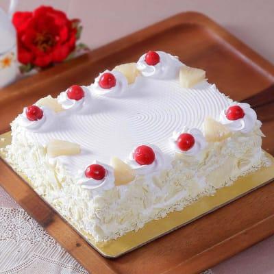 Party Pineapple Cake (Half Kg)