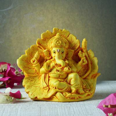 Patta Ganesha Resin Murti