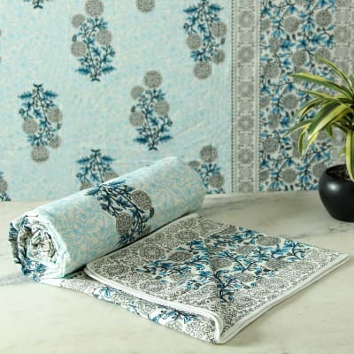Persian Print Double Bed Dohar