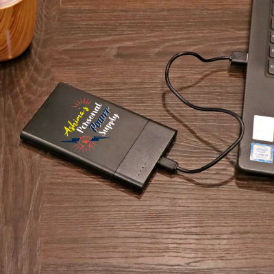Personal Power Supply Personalized Power Bank (5000 mAh)