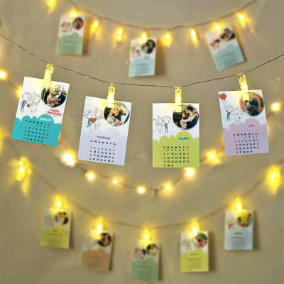Personalized Anniversary LED Photo Calendar