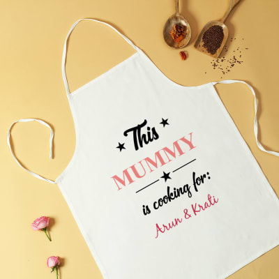 Personalized Apron for Mom