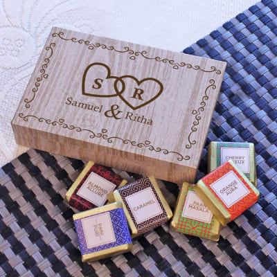 Personalized Assorted Box of Chocolates
