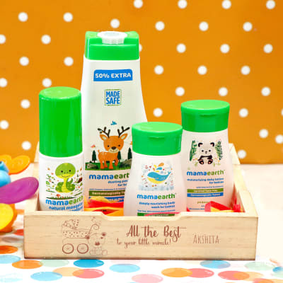 Personalized Baby Care Starter Kit for Newborns