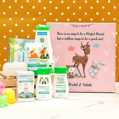 Personalized Baby Shower Care Hamper