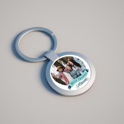 Personalized BFF Keychain