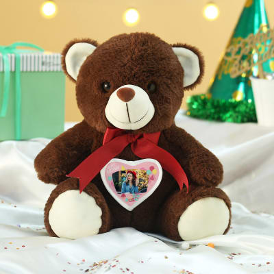 Personalized Brown Teddy Bear for Birthday