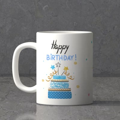 Personalized Ceramic Birthday Mug