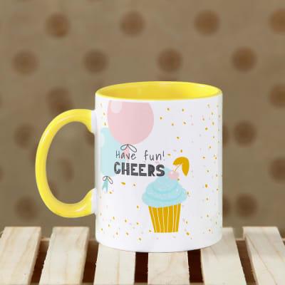 Personalized Cheers Mug