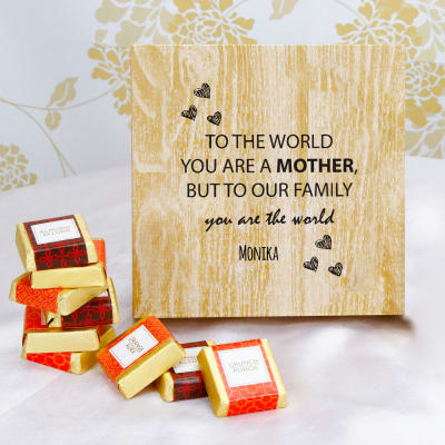 Personalized Chocolate Box for Mother's Day