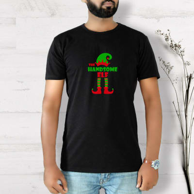 Personalized Christmas Elf T-Shirt
