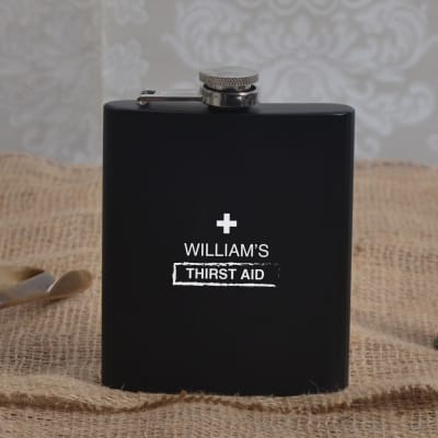 Personalized Classic Hip Flask