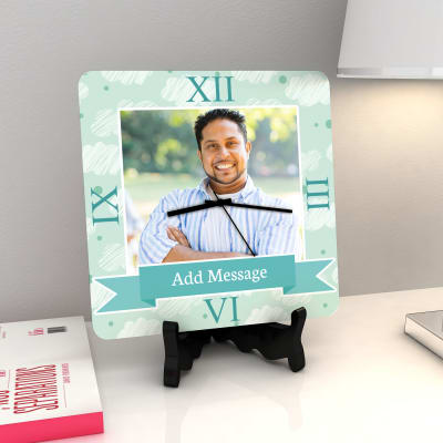 Personalized Clock With Message