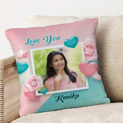 Personalized Cushion for Her