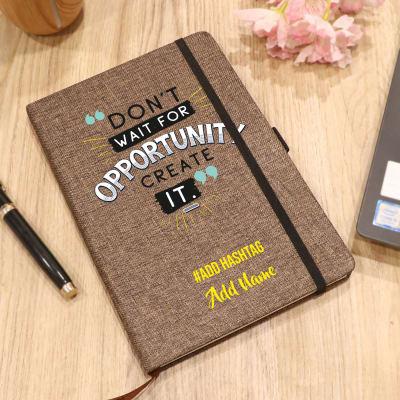 Personalized Eco Friendly Diary