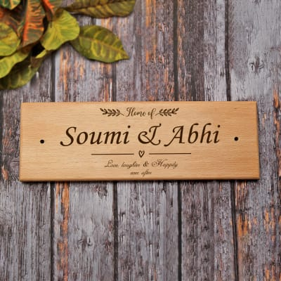 Personalized Engraved Name Plate