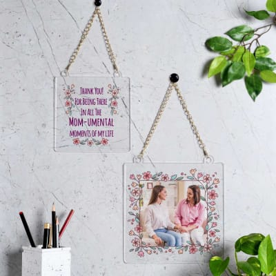 Personalized Floral Frames for Moms (Set of 2)