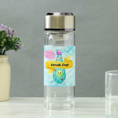 Personalized Glass Detox Water Bottle