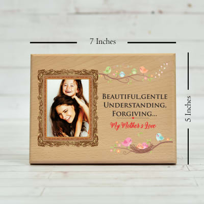 Personalized Glorious Plaque For Mother 7 X 5 Inches