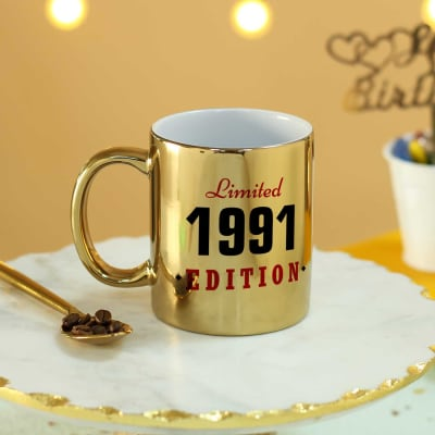 Personalized Golden Mug Combo