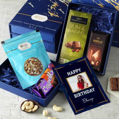 Personalized Happy Birthday Gourmet Gift Box