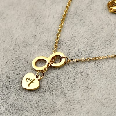 Personalized Heart Shaped Pendant in a Gift Box