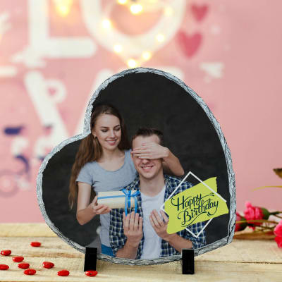 Personalized Heart Shaped Photo Frame