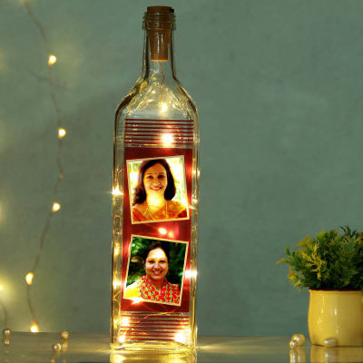 Personalized LED Bottle For Mom